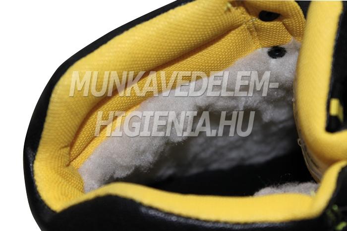 Cerva Black Knight TPU MF S3 CI Bélelt Munkavédelmi Bakancs